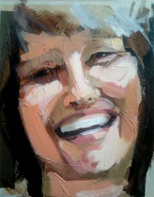 Retrato de Rosa Paz