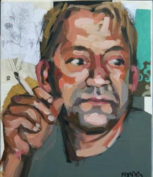 Retrato de Javier Guitián